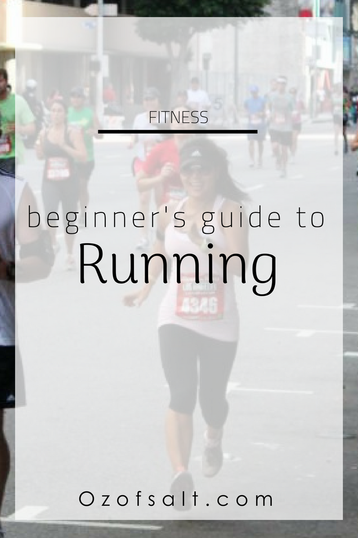 Need some encouragement to start running? Here are some beginner tips on how to get motivated to start your running fitness routine. #ozofsalt #runningbasics #exerciseroutine