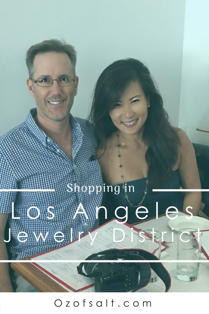 Tips for navigating and finding the best hot spots in the LA Jewelry District. #ozofsalt #LAjewelry #visitlosangeles