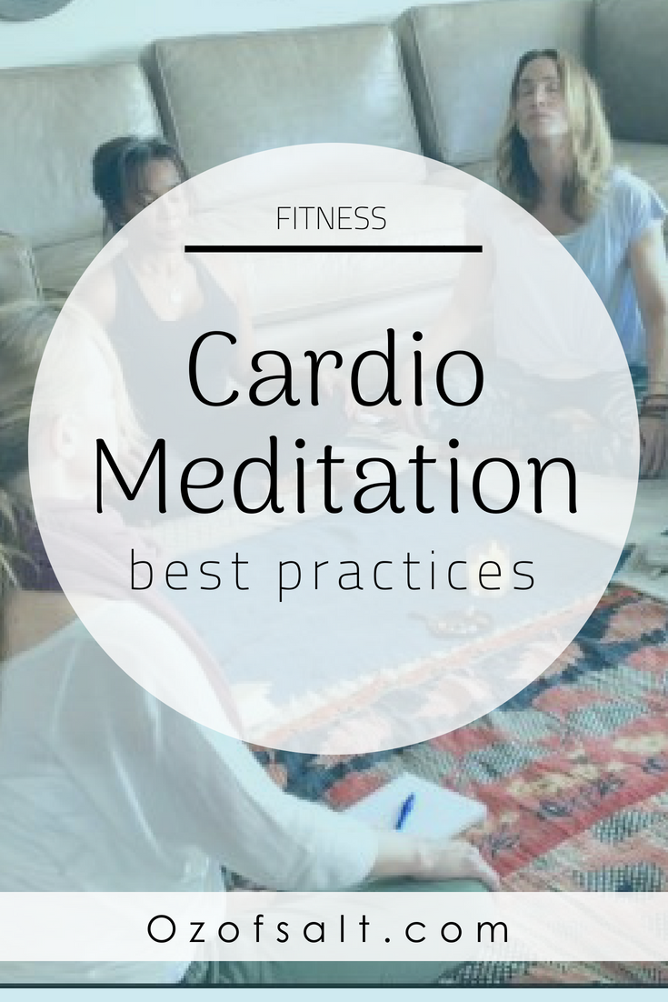 What is cardio meditation? Read on to find out more about this mindful exercise technique and how you can infuse it into your life. #ozofsalt #exercise #fitnesstips Cardio Workout | Lifestyle Change | Fitness Routine | Meditation Techniques