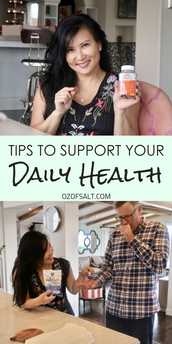 Supporting your daily health is important. Here are some simple ways to help boost your daily health that will keep your house and your family happy and healthy all year round.
